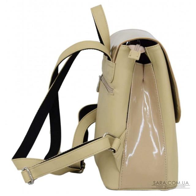 Купити 646 рюкзак беж лак беж Lucherino дешево. Україна