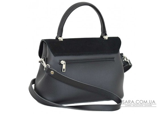 622 сумка замш черная Lucherino