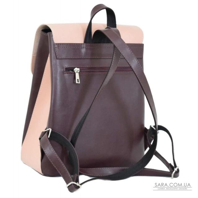 Купити 647 рюкзак бордо пудра Lucherino дешево. Україна