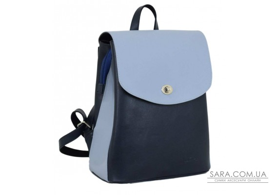 647 рюкзак синій блакитний Lucherino