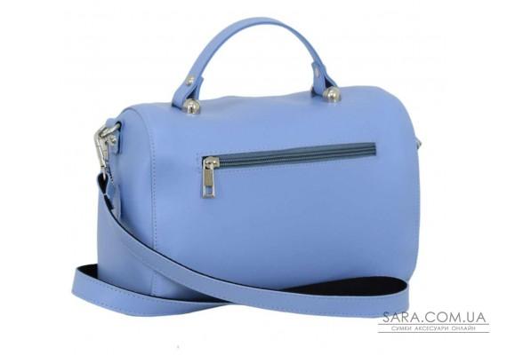 619 сумка темно блакитна н Lucherino