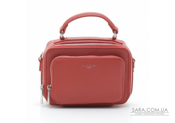 Клатч David Jones CM3966 red