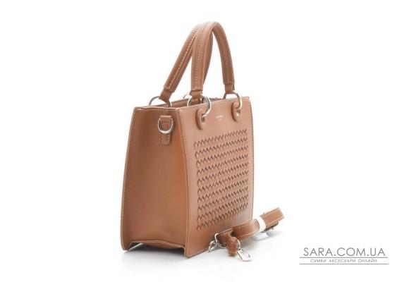 Жіноча сумка David Jones CM5165 cognac