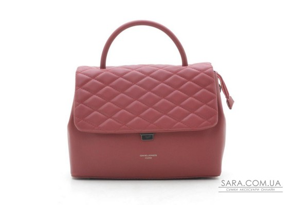 Клатч David Jones CM5427 dark red
