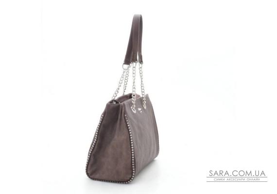 Жіноча сумка David Jones CM4050 d. brown (коричнева)