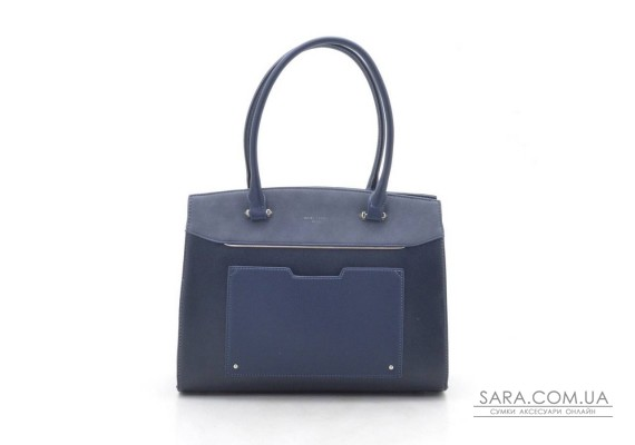 Жіноча сумка David Jones CM3932 d. blue (синя)