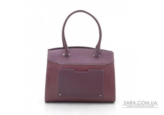 Жіноча сумка David Jones CM3932 d. bordeaux (бордо)