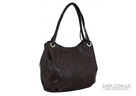 321 сумка пітон коричнева Lucherino