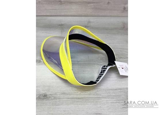 Молодіжна Перламутрова кепка з жовтим WeLassie
