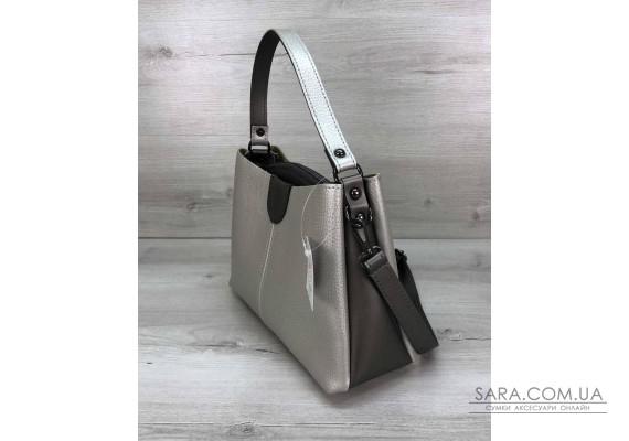 Жіноча сумка Іліна срібло WeLassie